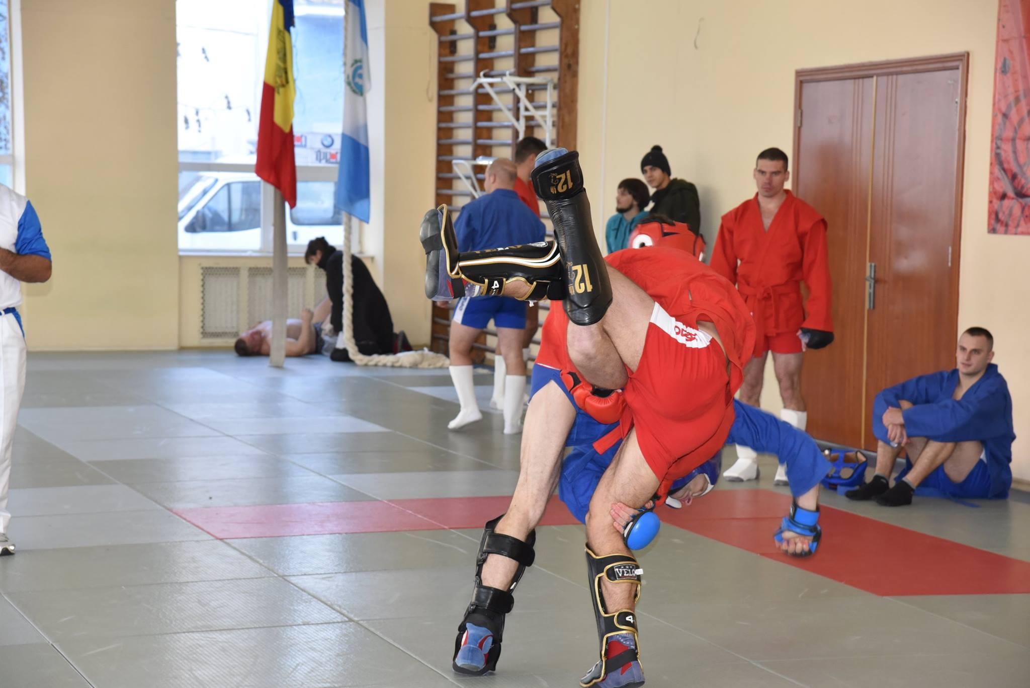 Lupta corp la corp din cadrul Spartachiadei CSC Dinamo 201816
