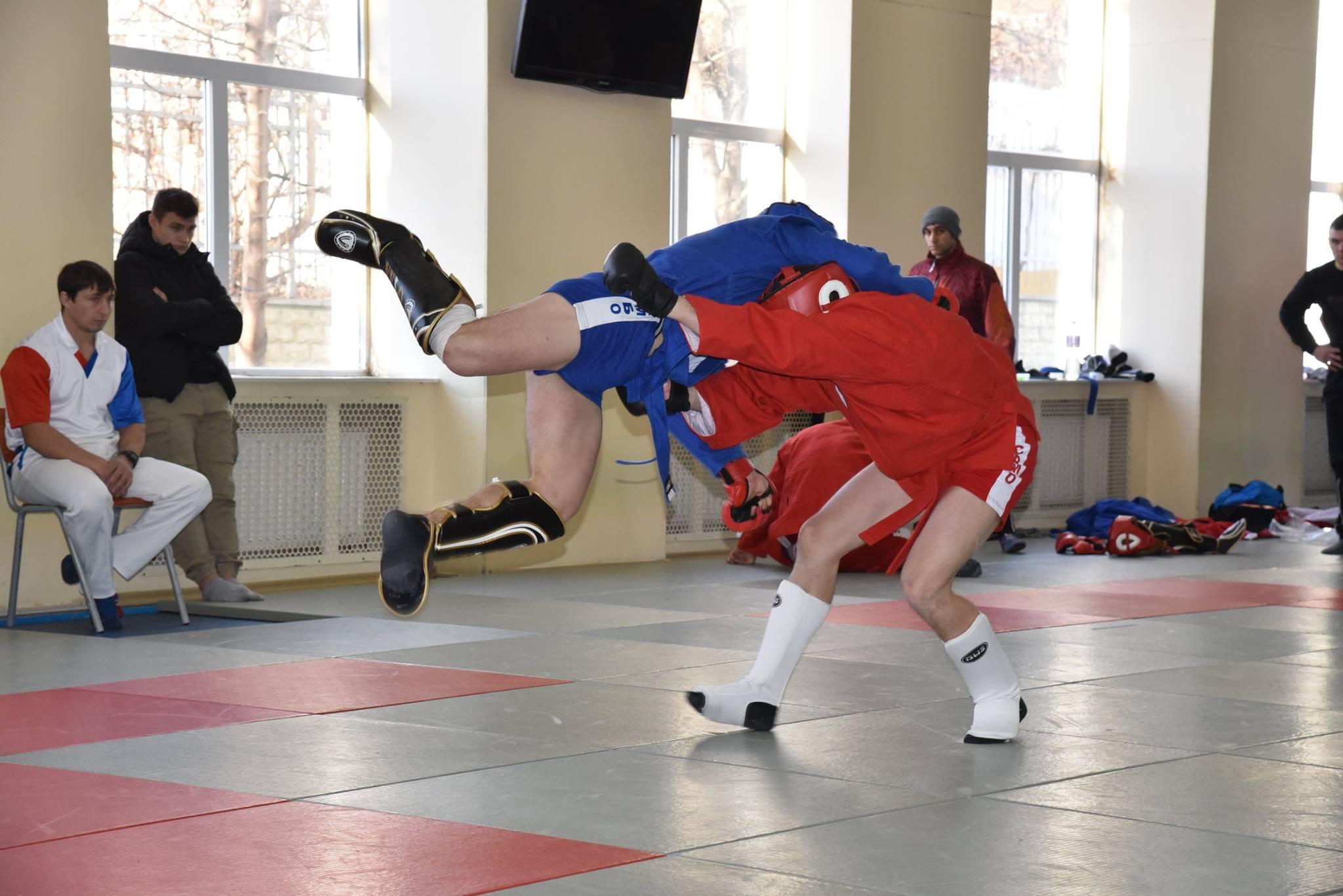 Lupta corp la corp din cadrul Spartachiadei CSC Dinamo 20182