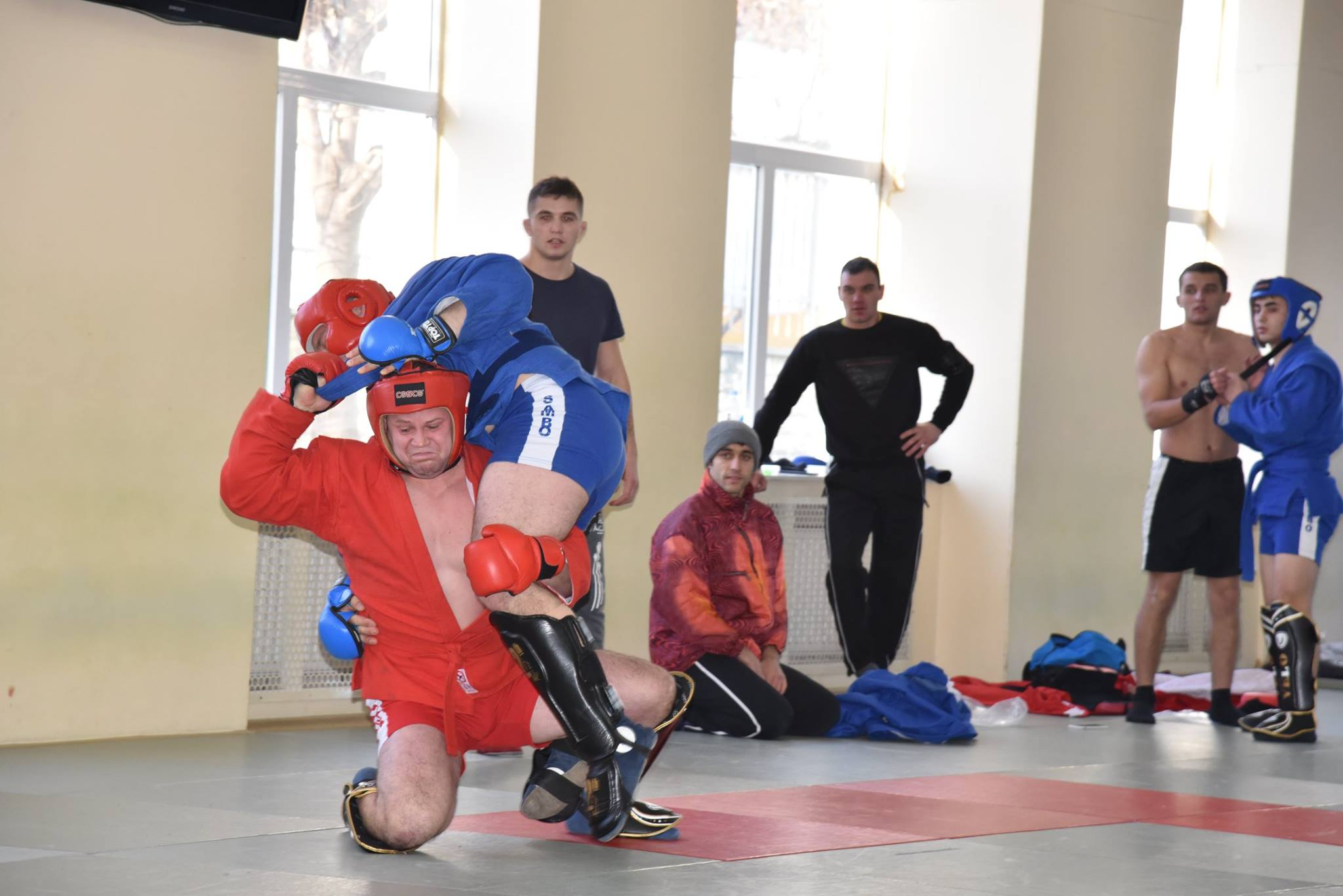 Lupta corp la corp din cadrul Spartachiadei CSC Dinamo 201824