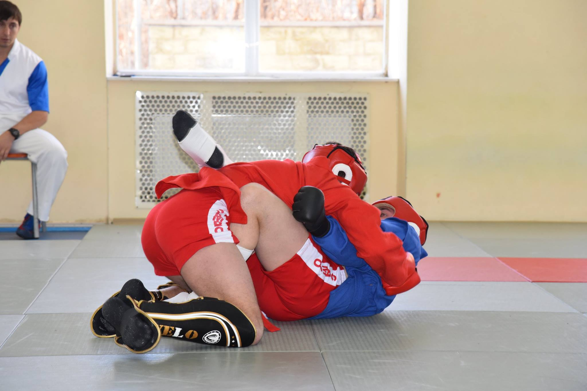 Lupta corp la corp din cadrul Spartachiadei CSC Dinamo 201826