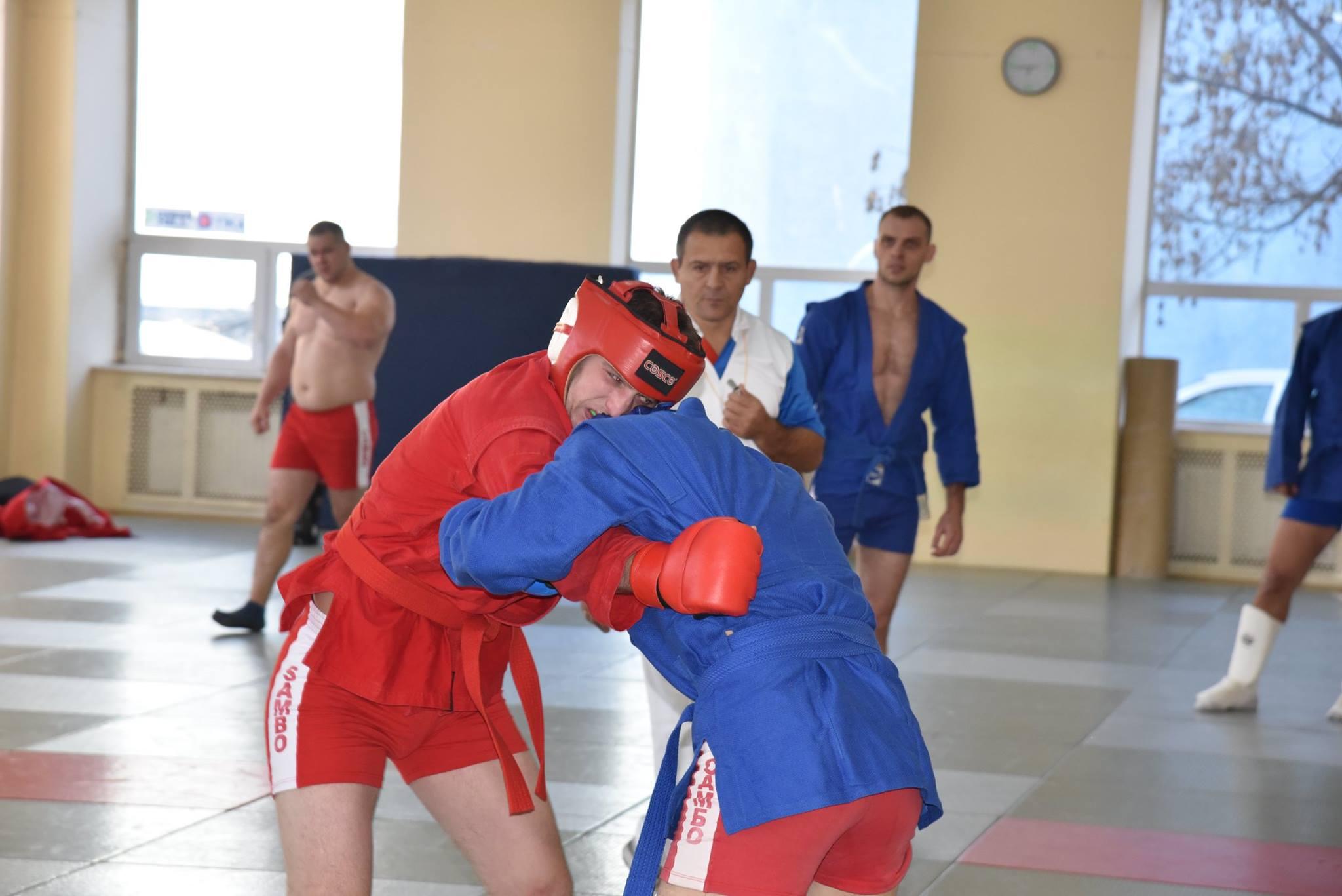 Lupta corp la corp din cadrul Spartachiadei CSC Dinamo 201827