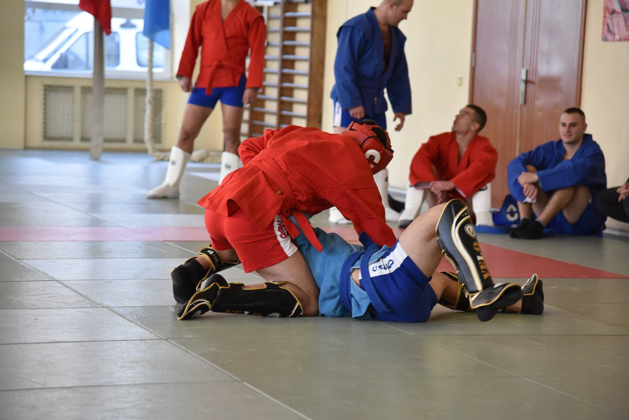 Lupta corp la corp din cadrul Spartachiadei CSC Dinamo 20183