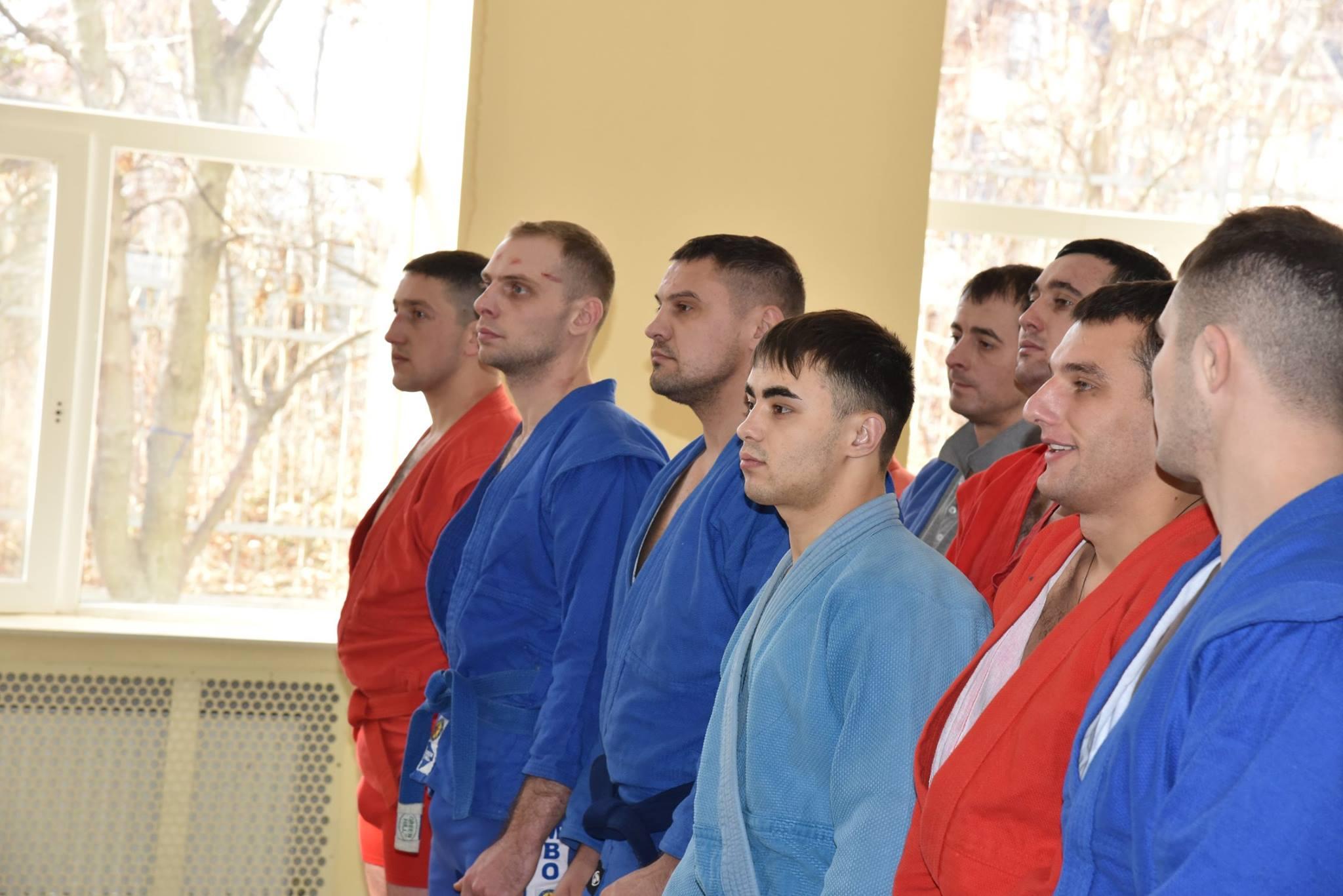 Lupta corp la corp din cadrul Spartachiadei CSC Dinamo 201837