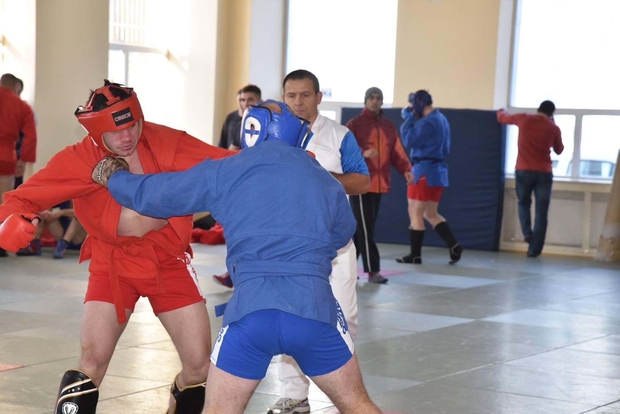 Lupta corp la corp din cadrul Spartachiadei CSC Dinamo 201838
