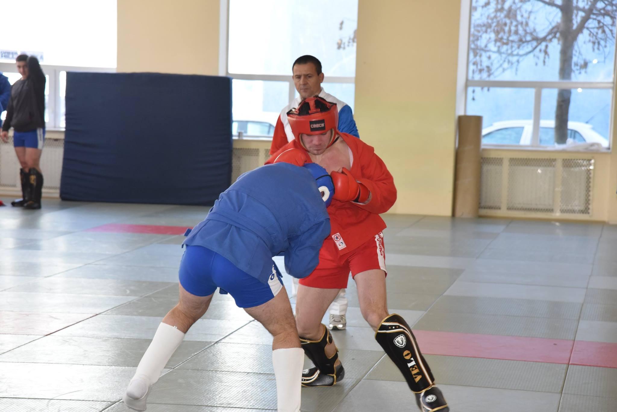 Lupta corp la corp din cadrul Spartachiadei CSC Dinamo 201846