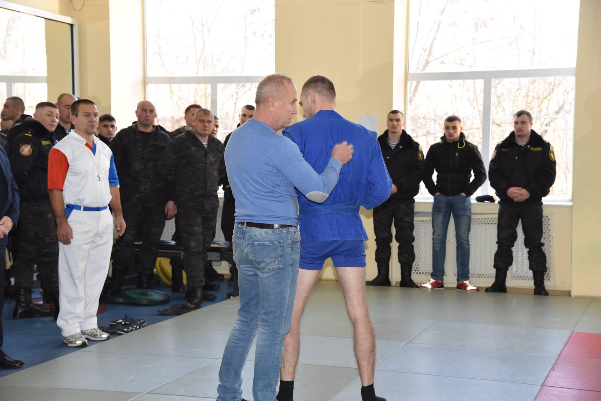Lupta corp la corp din cadrul Spartachiadei CSC Dinamo 201849