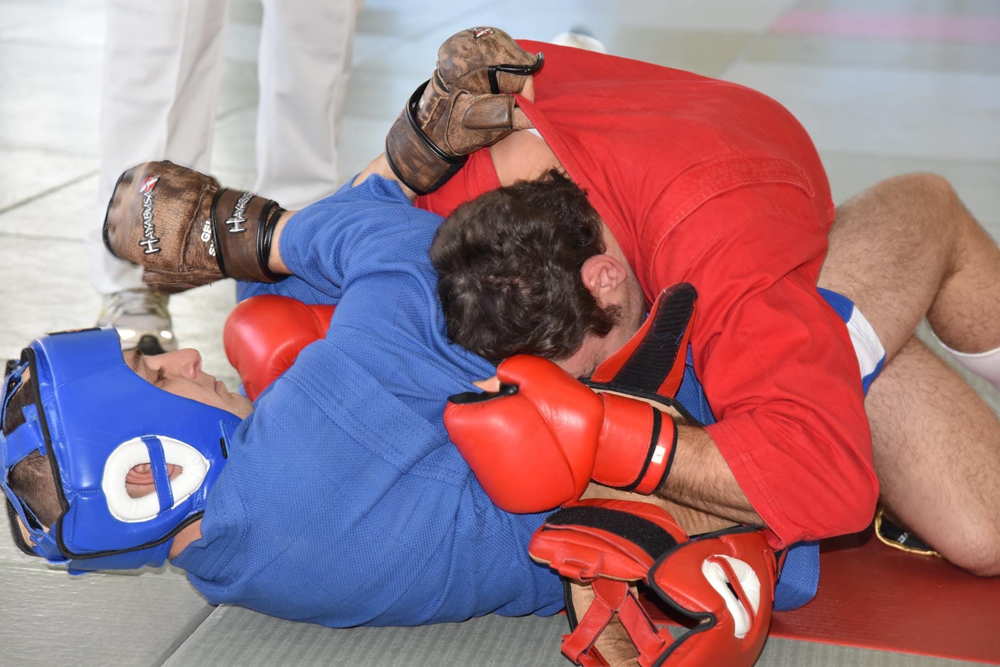 Lupta corp la corp din cadrul Spartachiadei CSC Dinamo 20185