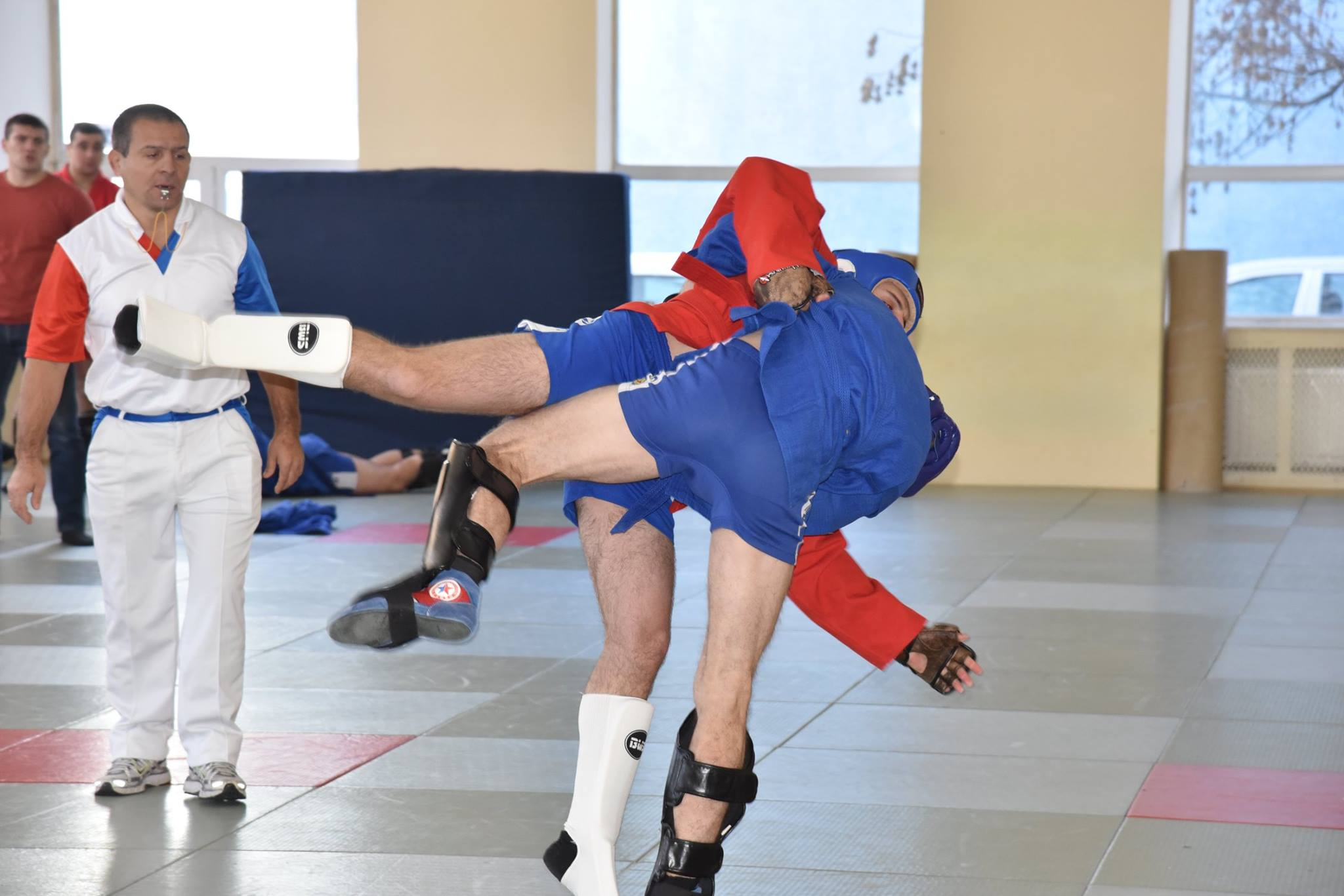 Lupta corp la corp din cadrul Spartachiadei CSC Dinamo 201853