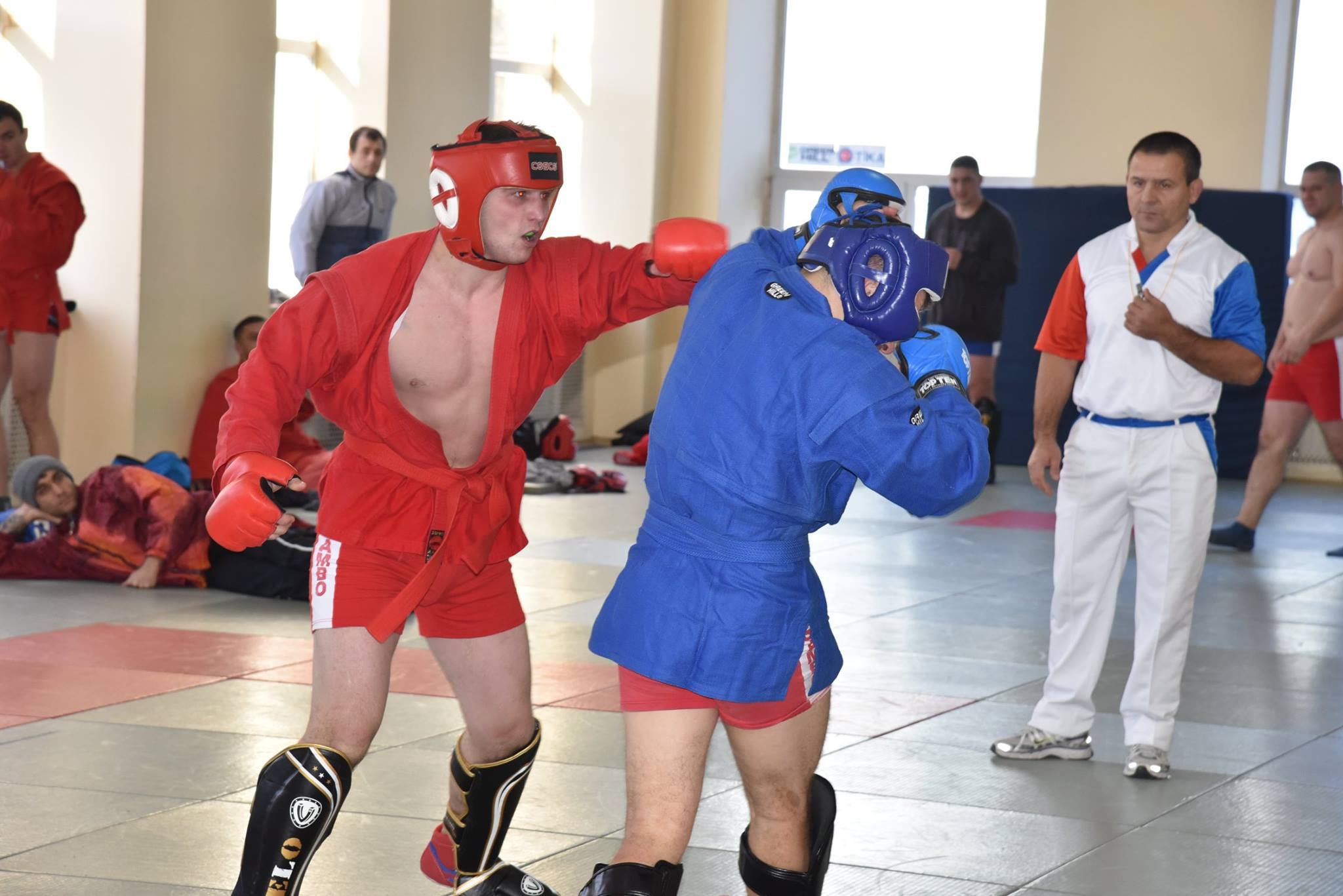 Lupta corp la corp din cadrul Spartachiadei CSC Dinamo 201856