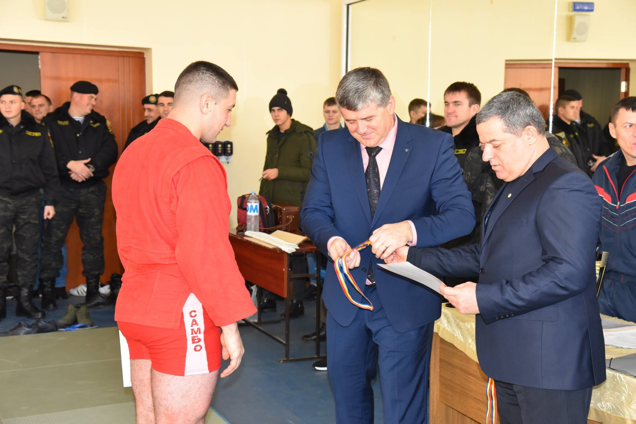 Lupta corp la corp din cadrul Spartachiadei CSC Dinamo 201857