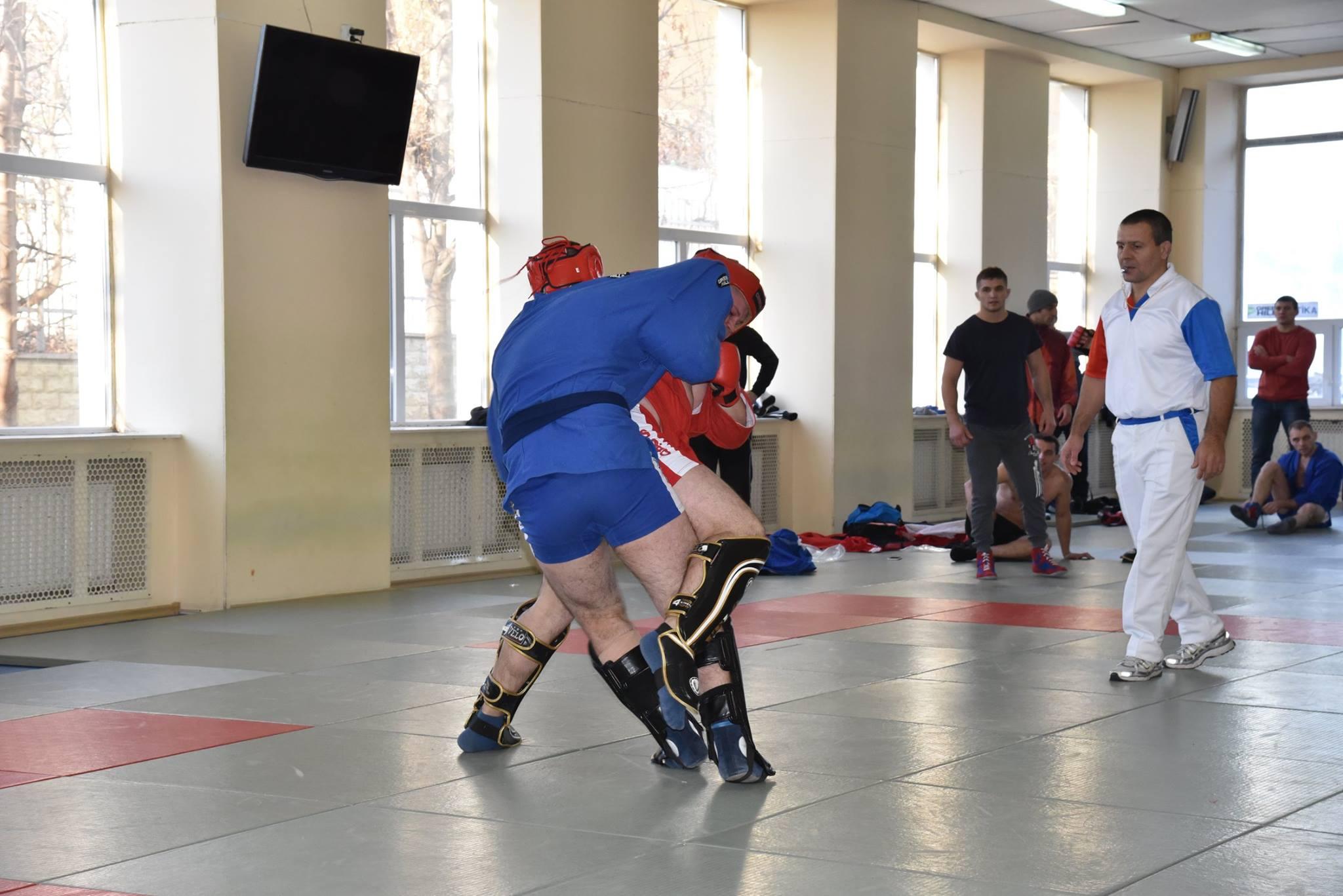 Lupta corp la corp din cadrul Spartachiadei CSC Dinamo 201869