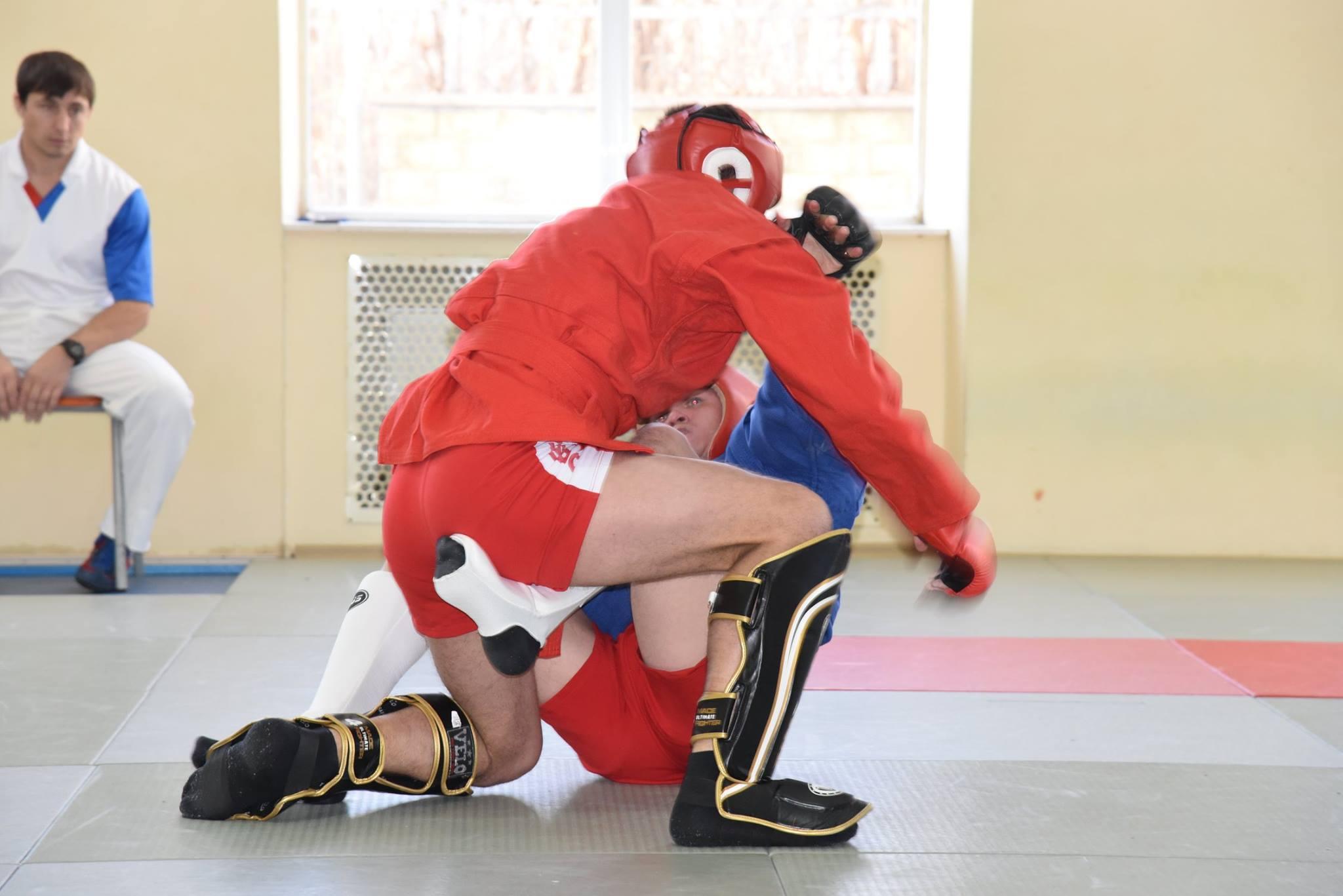 Lupta corp la corp din cadrul Spartachiadei CSC Dinamo 20187