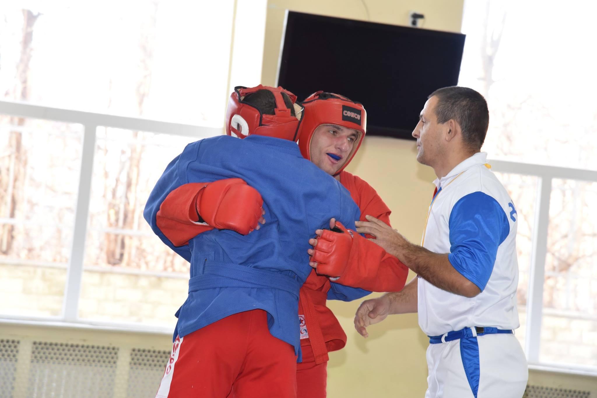 Lupta corp la corp din cadrul Spartachiadei CSC Dinamo 201870