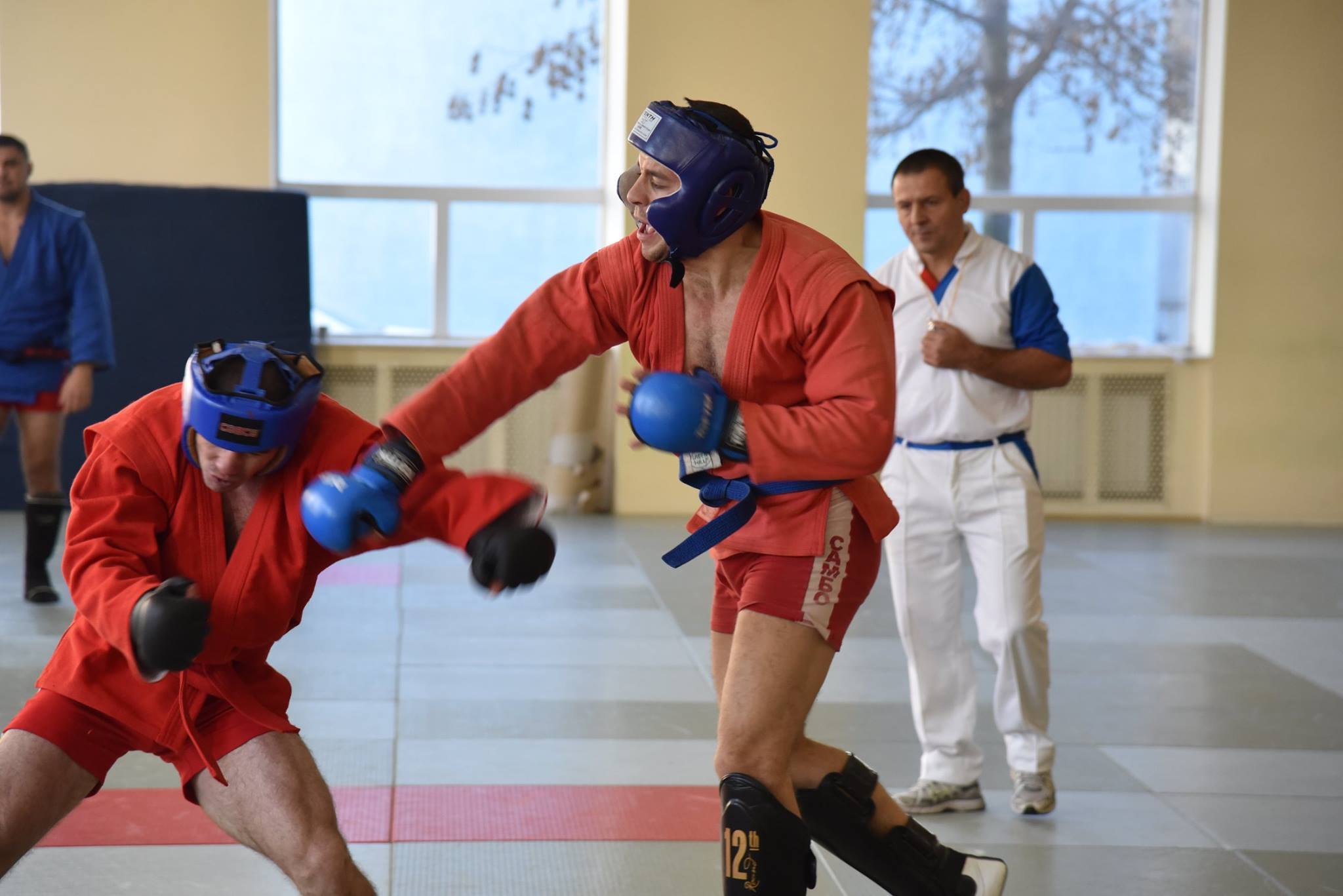 Lupta corp la corp din cadrul Spartachiadei CSC Dinamo 20188