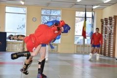 Lupta corp la corp din cadrul Spartachiadei CSC Dinamo 201848