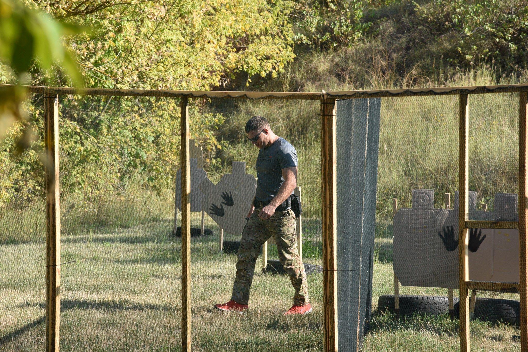 Tir defensiv din cadrul Spartachiadei17